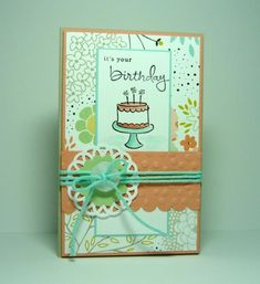 It's Your Birthday by dahlia19 - Cards and Paper Crafts at Splitcoaststampers