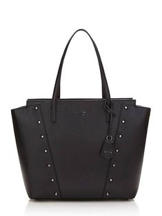 KAIA SHOPPER WITH STUDS on Guess.eu