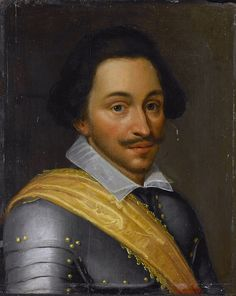 Philip of Nassau(1566-95) c.1610-20.oil on panel.30.2х 24.6cm.Rijksmuseum Amsterdam.Workshop of Jan van Ravesteyn(c.1572- 1657)The Battle of the Lippe was a cavalry action fought on 2 Sept.1595 on the banks of the Lippe river,in Germany, betw.a corps of Spanish cavalry led by Juan de Córdoba and a corps of Dutch cavalry,supported by English troops,led by Philip of Nassau.