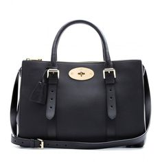 Mulberry Bayswater Double Zip Leather Tote (£1,660) ❤ liked on Polyvore