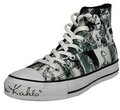 Friday Kahlo Chuck Taylor's