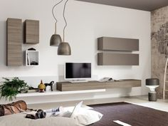Έπιπλα Ηράκλειο: DeltaMo - προϊόντα - Συνθέσεις & Κατασκευές - Συνθέσεις τοίχου - CITY