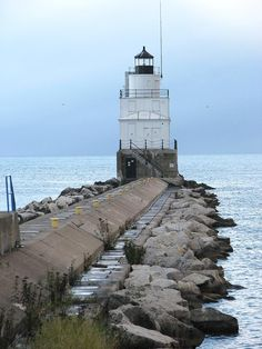 Manitowoc, WI Breakwater Lighthouse..A lot of great walks to the end of this pier as we call it.