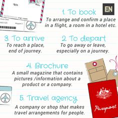 Words related to TRAVEL