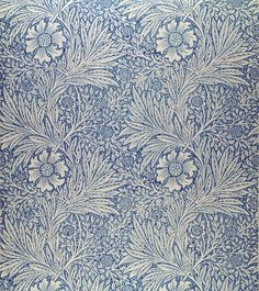 """Wallpaper by William Morris called """"Marigold"""". This will be in the bedroom of the future house"""
