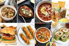Turkey dinners are not just for Thanksgiving! From tacos to soups to burgers and more, enjoy these easy and healthy dinners with turkey all year long! Healthy Chicken Dinner, Healthy Meal Prep, Easy Healthy Dinners, Healthy Dinner Recipes, Vegetarian Dinners, Vegetarian Options, Avocado Mac And Cheese, Vegan Bean Burger, Blender Hollandaise