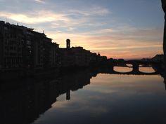 Tramonto a Firenze, Ponte Vecchio