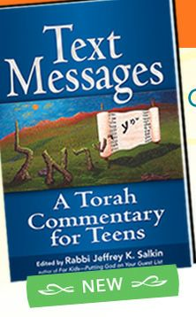 Text Messages: A Torah Commentary for Teens edited by Rabbi Jeffrey K. Salkin
