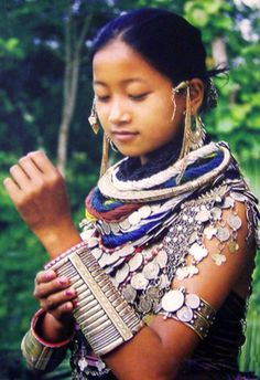 India   Reang woman. Tripura