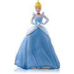 2014 Hallmark A Magical Transformation Ornament - Disney Cinderella - Glass Shoe #Hallmark #Disney #HallmarkOrnaments #DisneyCinderella #Cinderella