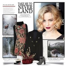 """Escape To A Winter Wonderland"" by thewondersoffashion ❤ liked on Polyvore featuring Valentino, Alice + Olivia, Elie Saab, Dolce&Gabbana, Oscar de la Renta, Balenciaga and NARS Cosmetics"