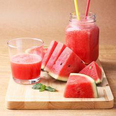 Smoothie de pepene roșu cu lime