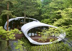 SHell House - designed by Japanese architecture firm Artechnic (love it)