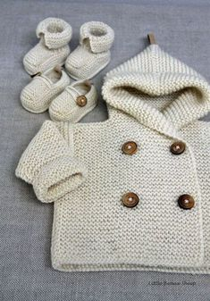 Collection of Knit Baby Sweate