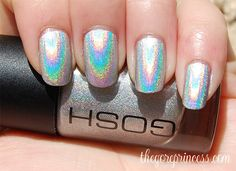 Holographic nail polish by GOSH