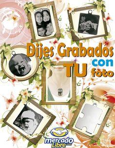 $19 Bs. 138 Dijes Grabados con tu foto de Venta en Mercadolibre Venezuela