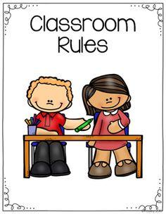 Classroom Rules Signs by Amanda Pauley Class Rules Poster, Classroom Rules Poster, Classroom Commands, Classroom Behavior, Kindergarten Classroom Rules, Five Senses Preschool, Student Of The Week, Social Skills For Kids, Teaching Time