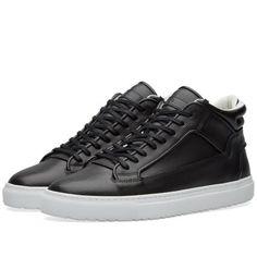 ETQ. Mid Top 2 Rondo Sneaker (Black) Swag Style ba4a3e744