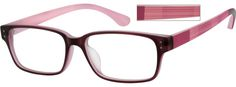 Order online, women purple full rim acetate/plastic square eyeglass frames model #256217. Visit Zenni Optical today to browse our collection of glasses and sunglasses.