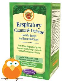 Nature's Secret Respiratory Cleanse & Defense (Healthy Lungs)