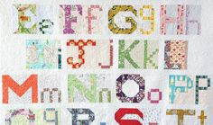 Uppercase & Lowercase Letters