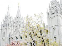 SLC temple- where I was married!