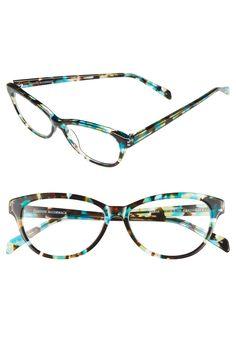 Turquoise & Tortoiseshell Marge Reading Glasses