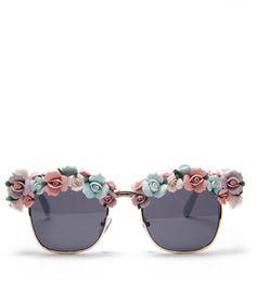 A-morir Ceramic Flowers Sunglasses on http://stylecom.shopstyle.com