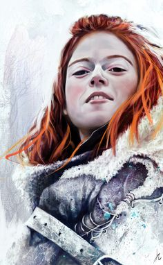 GoT: Making of John Snow and Ygritte