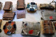 Everybody's Paper Bundles from India Flint Workshop
