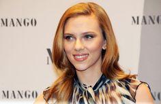 Scarlett Johansson Photos - Scarlett Johansson Posing At MANGO Photocall In Munich - Zimbio