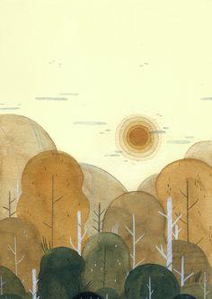 "查看此 @Behance 项目:""Chasing the Sundown""https://www.behance.net/gallery/47053953/Chasing-the-Sundown"