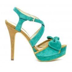 Hello, teal heels!