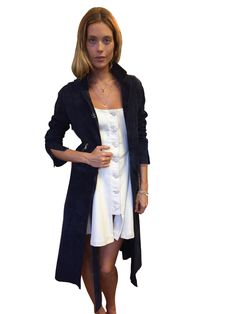Sandy Liang - Suki Trench Coat. Now available on www.House of Holthus.com