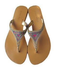 cd762214131ca Walking in Style     Star Mela Flip Flops
