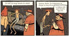 Viñeta de «Una asombrosa aventura de Jules. Integral 2» por Emile Bravo. Eidta Ponent Mon