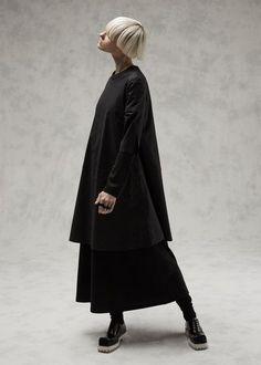 Acne Studios Pari Stretch Dress (Black)
