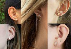 elegantné srdiečkové náušnice Fashion Outfits, Earrings, Clothes, Jewelry, Ear Rings, Outfits, Stud Earrings, Clothing, Jewlery