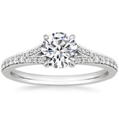 18K White Gold Duet Diamond Ring from Brilliant Earth