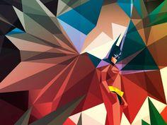 Colorful Batman