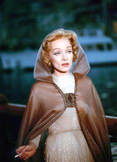 Marlene Dietrich (age 56) in The Monte Carlo Story  (Samuel Taylor, 1957)