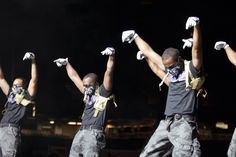 Bring in the Noise - Omega Psi Phi step team