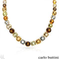 CARLO BUTTINI 185.30 CTW Quartz 18K Gold Necklace