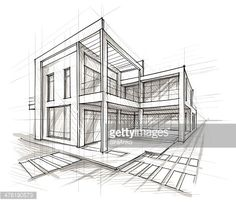 architecture structure drawing - Google Search