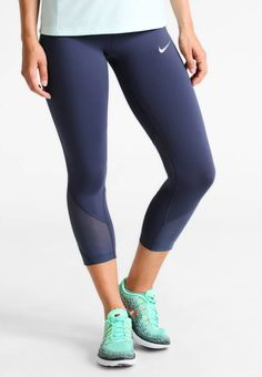 39fe268ca Nike Performance. POWER EPIC LUX - Tights - thunder blue reflective silver.  Outer