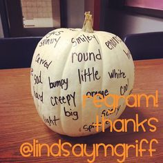 Pumpkins are...
