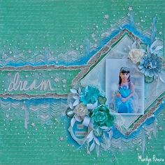 A Video Tutorial using the January Limited Edition kit- My Creative Scrapbook by Marilyn Rivera