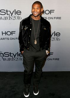 Usher at 2nd Annual InStyle Awards, LA