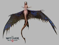 Mermaid The Witcher 3 Wild Hunt, Bartlomiej Gawel on ArtStation at https://www.artstation.com/artwork/B6ydm