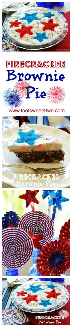 Firecracker Brownie